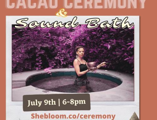 Sacred Cacao Medicine Ceremony & Sound Bath