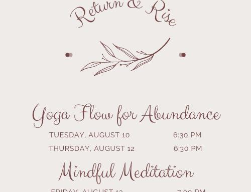 Return and Rise: Flow for Abundance